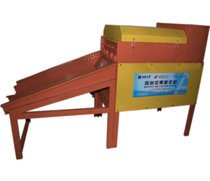 Model AFJG-3000 macadamia nut peeling machine